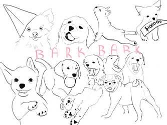 Bark Bark by Brownielonglegs