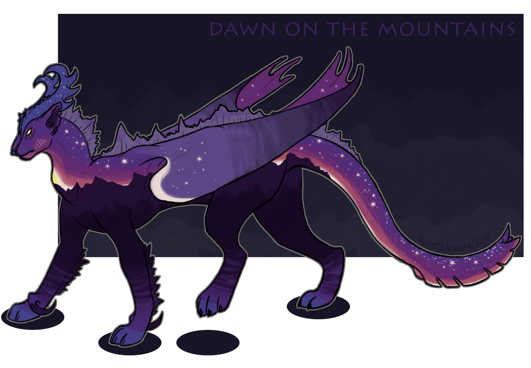 Dawn On The Mountains by InfernalEvanesce