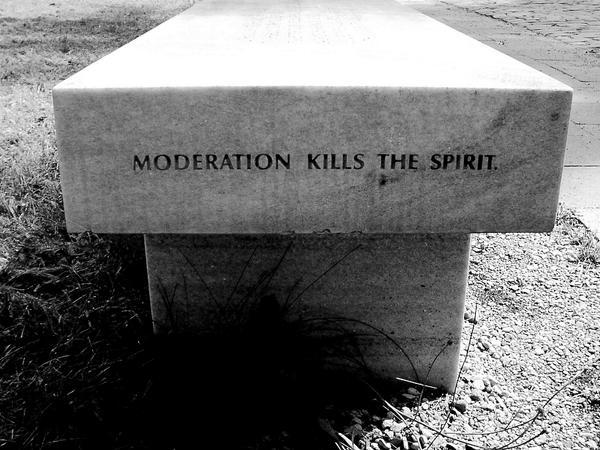 moderation kills the spirit by Kuna-Aayla-Secura