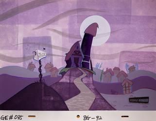 Billy and Mandy (S02E05) Jack's House Background by Davidevgen