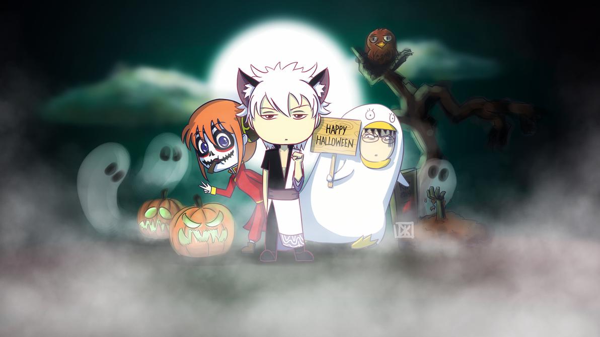 Happy Halloween! - Gintama version by Dei-bon