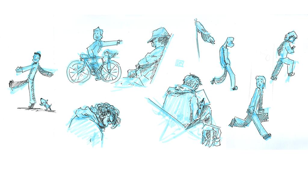 People Sketch Dump by Dei-bon