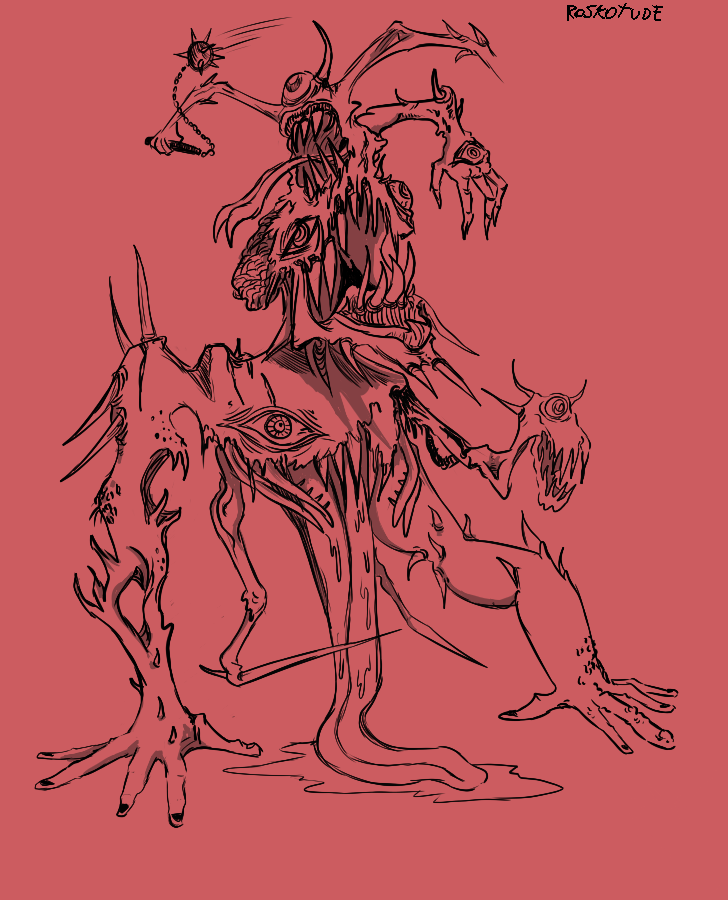 Abomination/Abominacion by Roskotude