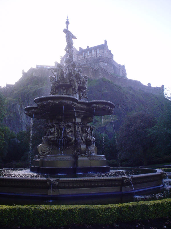 Gurgling Fountain by athenathegreat7