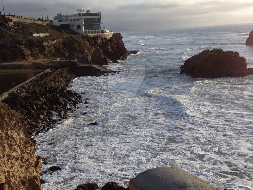 On the shore by athenathegreat7