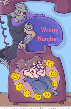 Wrong Number cover art