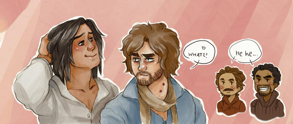 What? [Athos and d'Artagnan] by ProfDrLachfinger