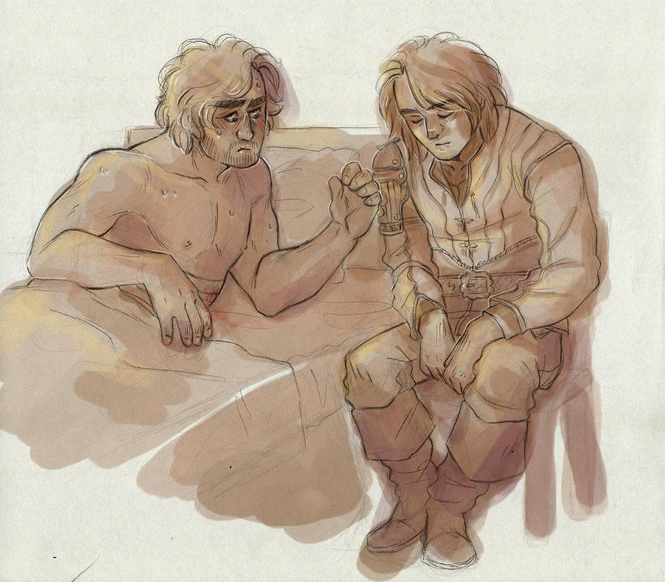 Fever [Athos and d'Artagnan] by ProfDrLachfinger