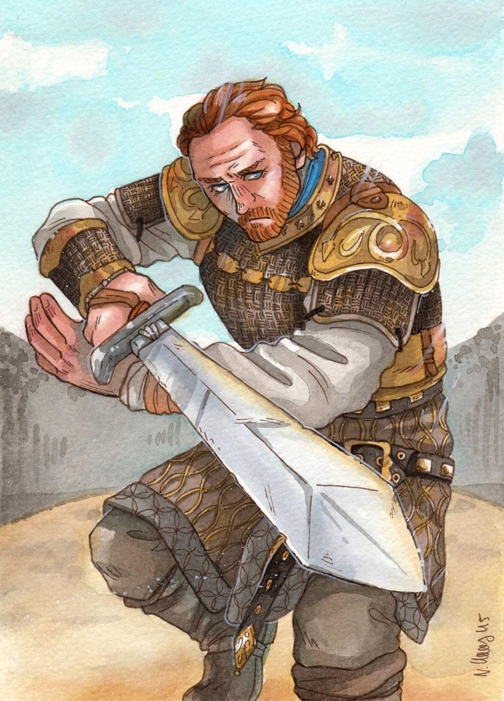 Bastard Blade [Ser Jorah Mormont] by ProfDrLachfinger