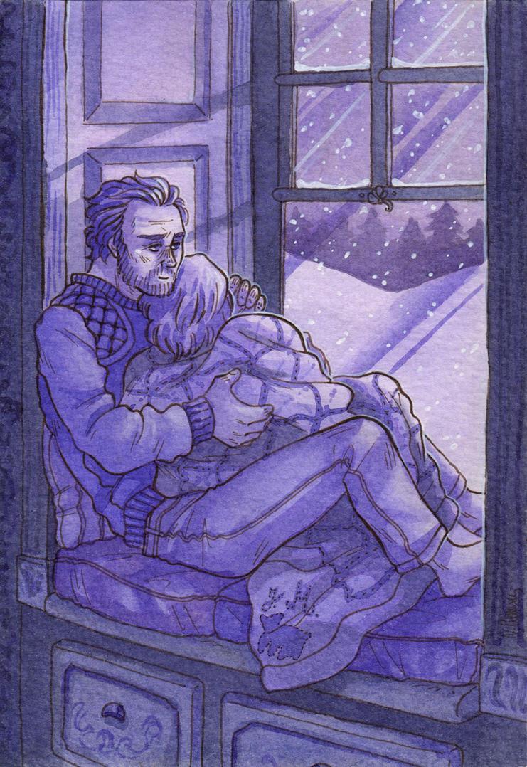 Night's Shelter [Jorah Mormont Jaime Lannister] by ProfDrLachfinger
