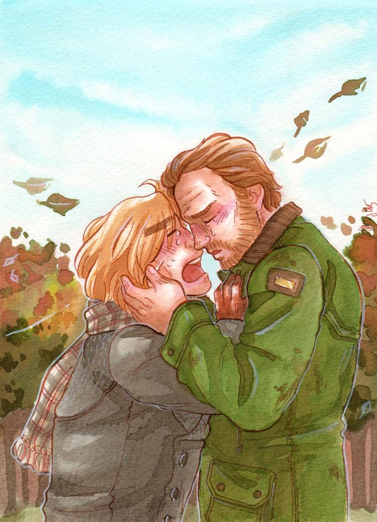 Leaving in Autumn [Jorah Mormont Jaime Lannister] by ProfDrLachfinger