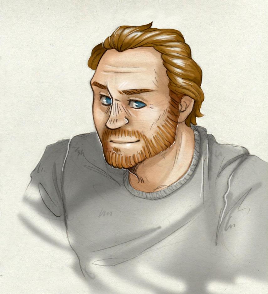 Smile [Jorah Mormont] by ProfDrLachfinger