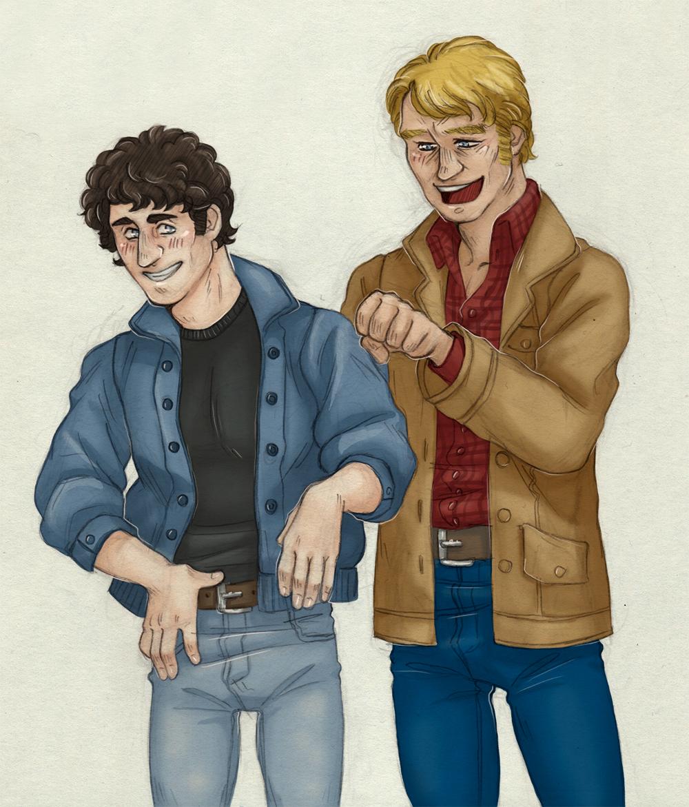 Joking [Starsky and Hutch] by ProfDrLachfinger