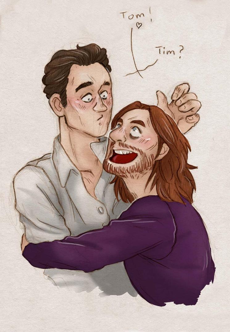 Tim Minchin and Tom Hiddleston [TimTom] by ProfDrLachfinger