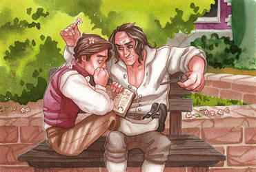 Reading of Magic [Johnsquared]