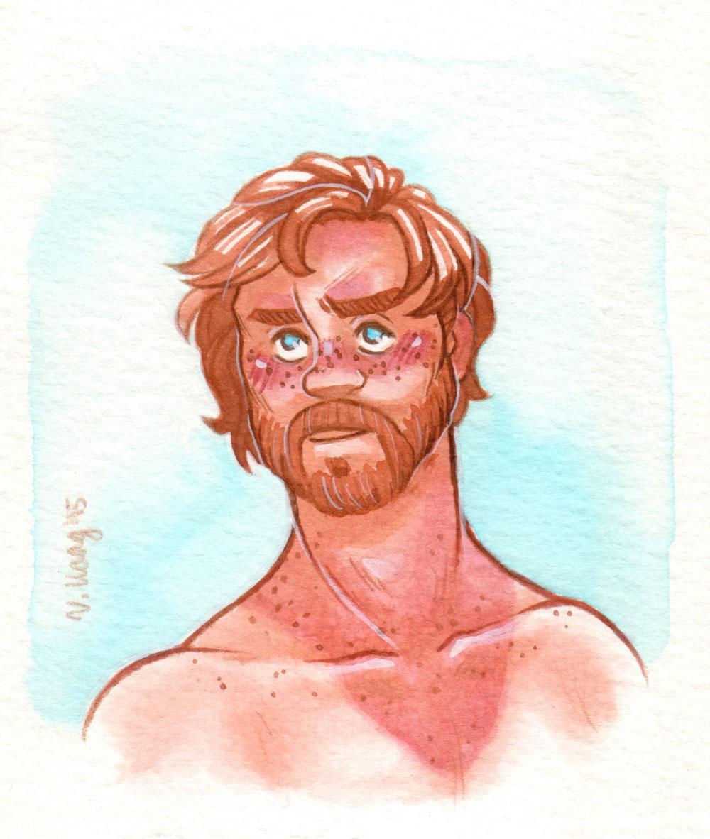 Sunburn [Obi-Wan Kenobi] by ProfDrLachfinger