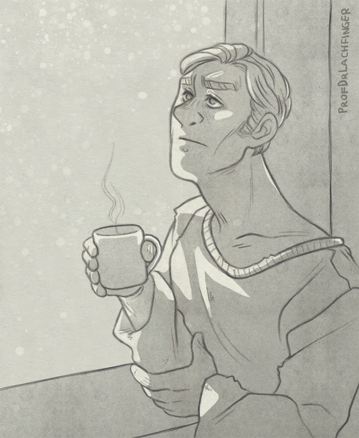 Waiting in the Snow [General Hux] by ProfDrLachfinger