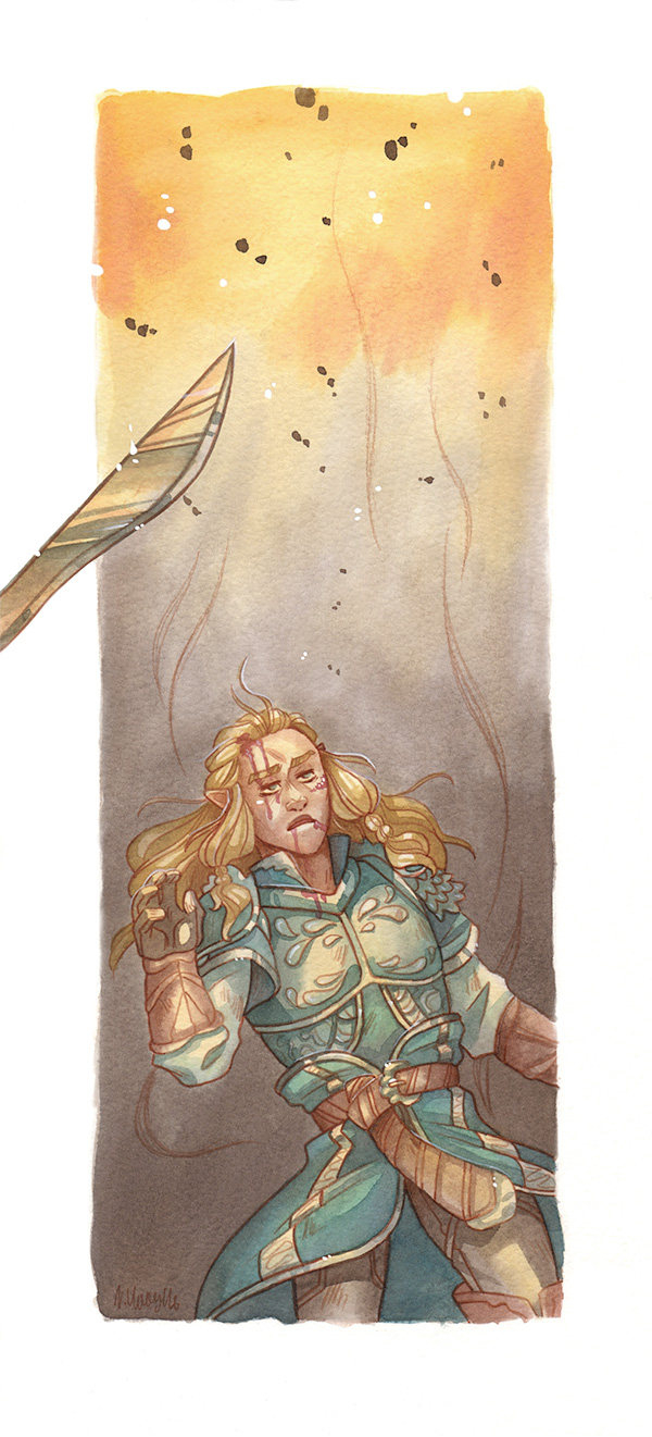 He Fell [Glorfindel] by ProfDrLachfinger