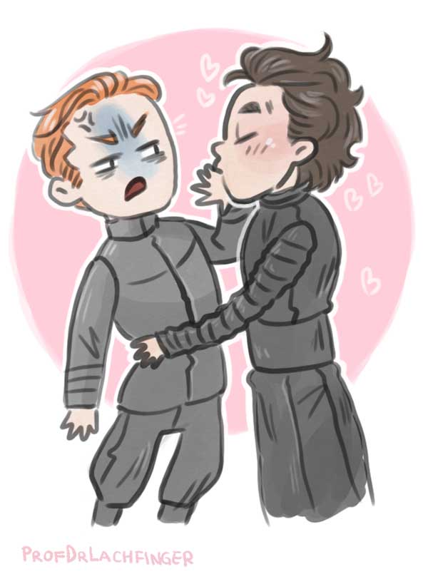 No Kissing! [Kylux] by ProfDrLachfinger