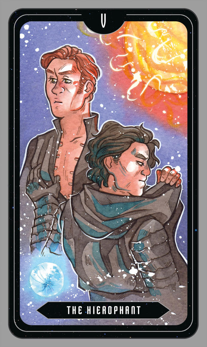 The Hierophant [Kylux] by ProfDrLachfinger