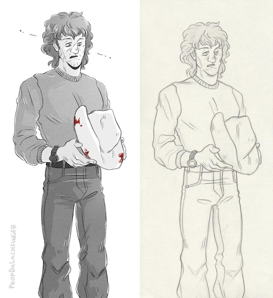 What Happened? [John Rambo] by ProfDrLachfinger