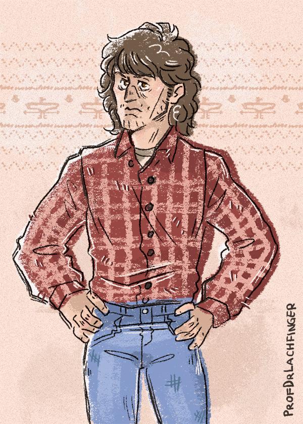 The Look [John Rambo] by ProfDrLachfinger