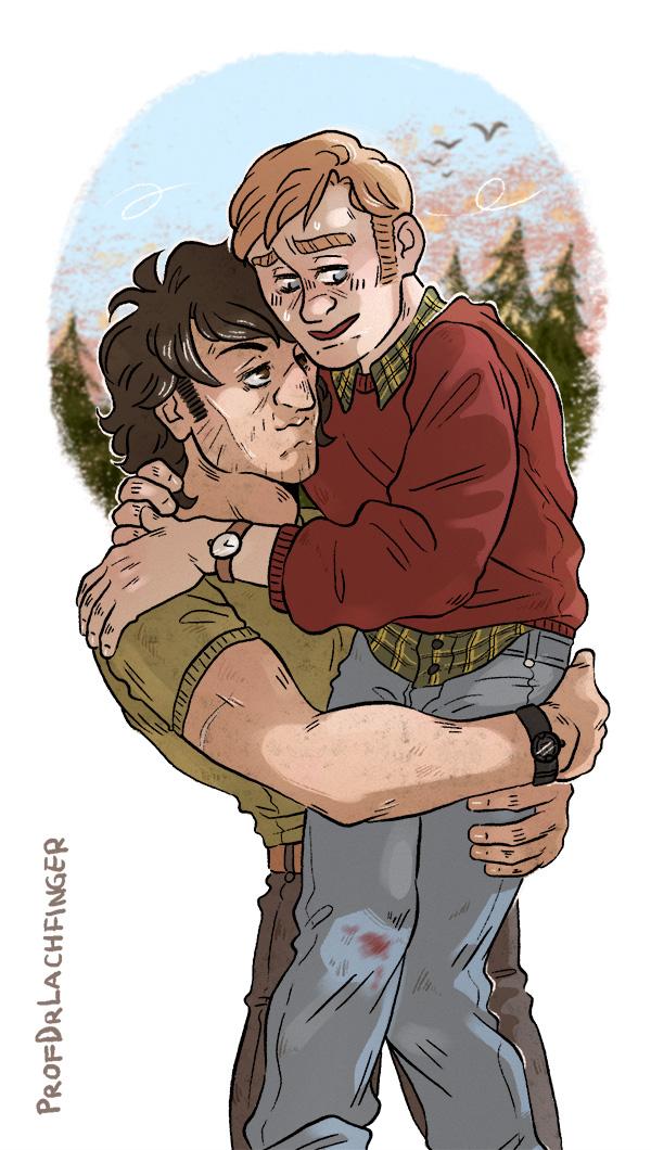 I got you [John Rambo and Mitch] by ProfDrLachfinger