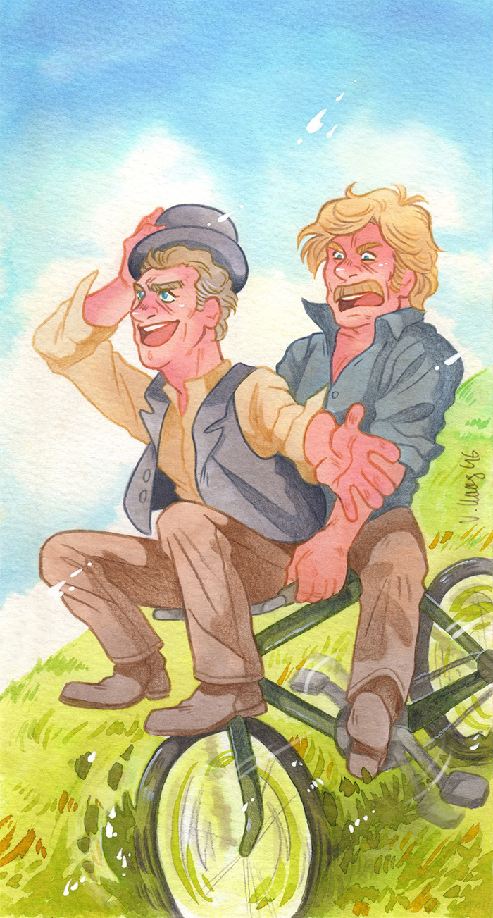 Bicycle Ride [Butch Cassidy and the Sundance Kid] by ProfDrLachfinger