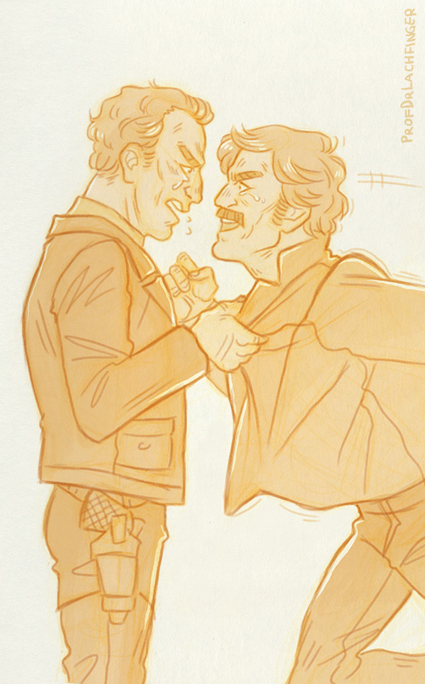 Fight [Butch Cassidy and the Sundance Kid] by ProfDrLachfinger