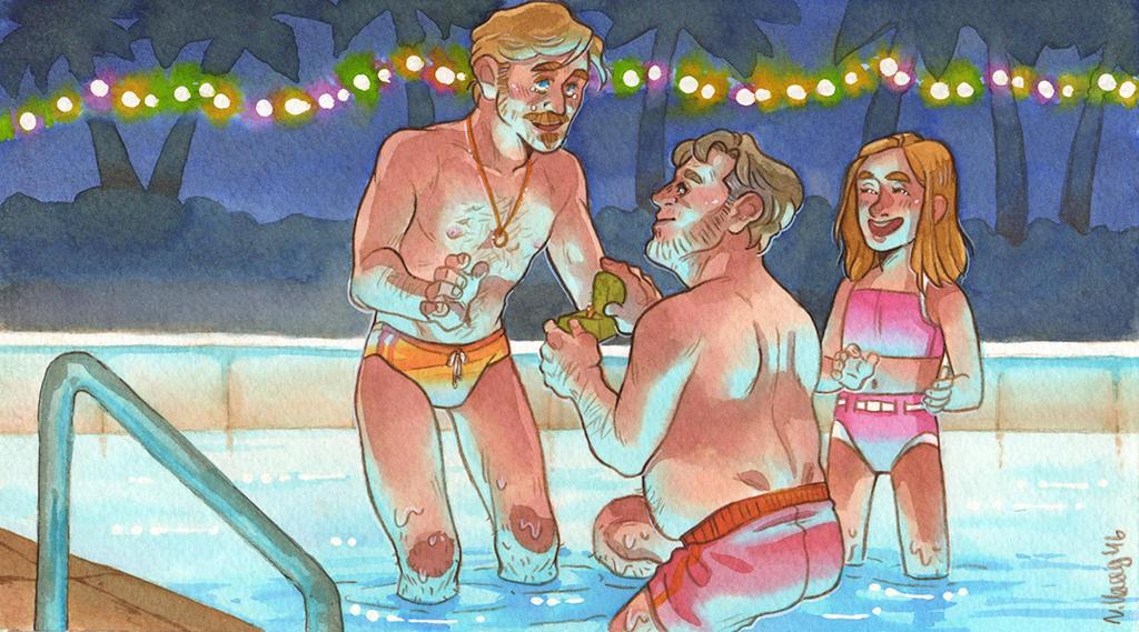 Christmas Engagement [The Nice Guys] by ProfDrLachfinger