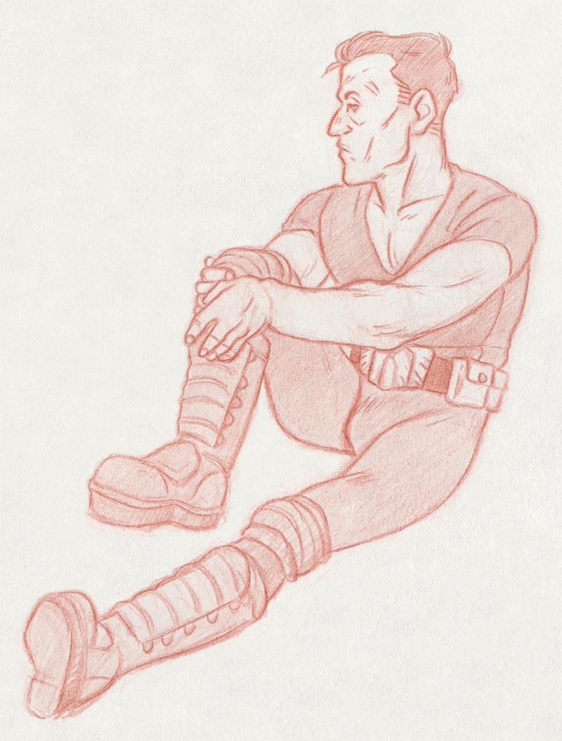 Joseph Dredd [Judge Dredd] by ProfDrLachfinger