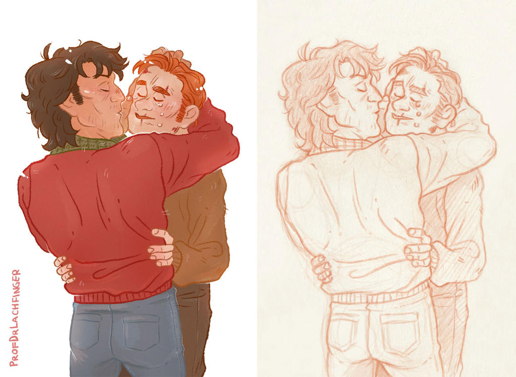 Kiss and Care [John Rambo and Mitch] by ProfDrLachfinger