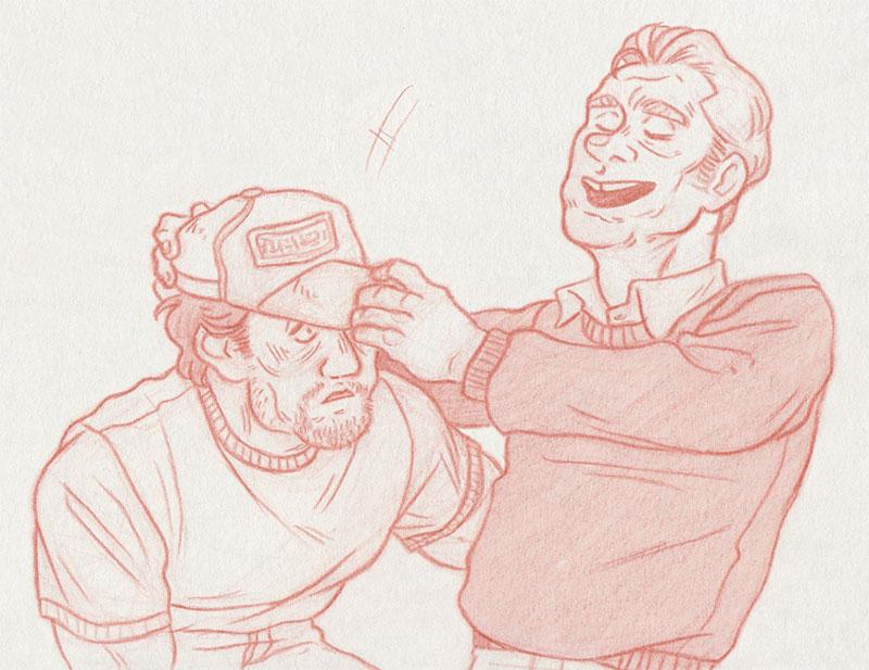A Hat [John Rambo and Mitch] by ProfDrLachfinger