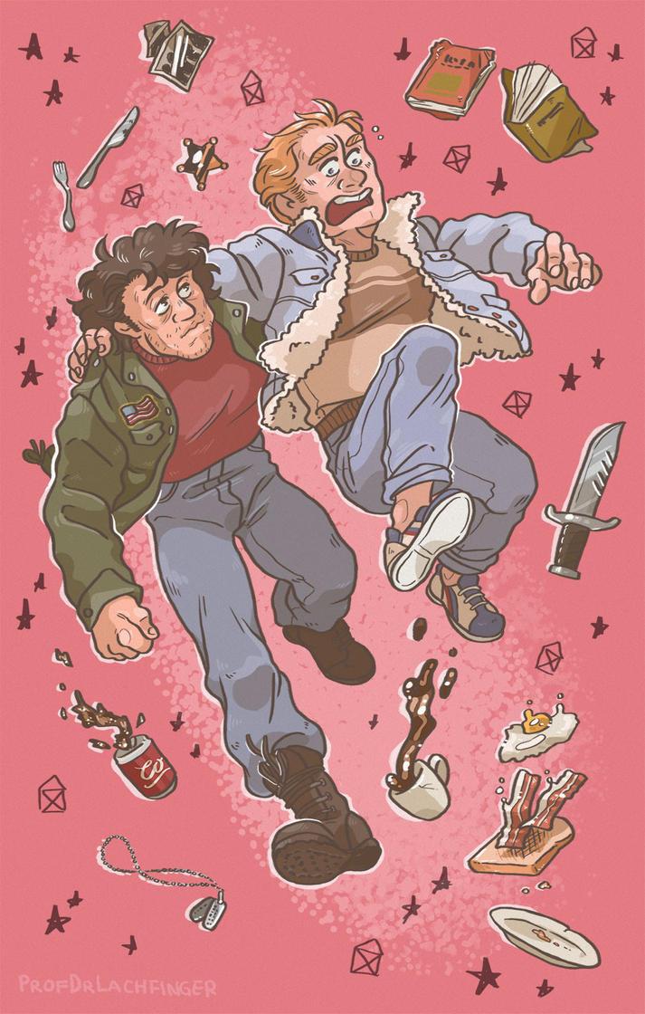 Walk Of Life [John Rambo and Mitch] by ProfDrLachfinger