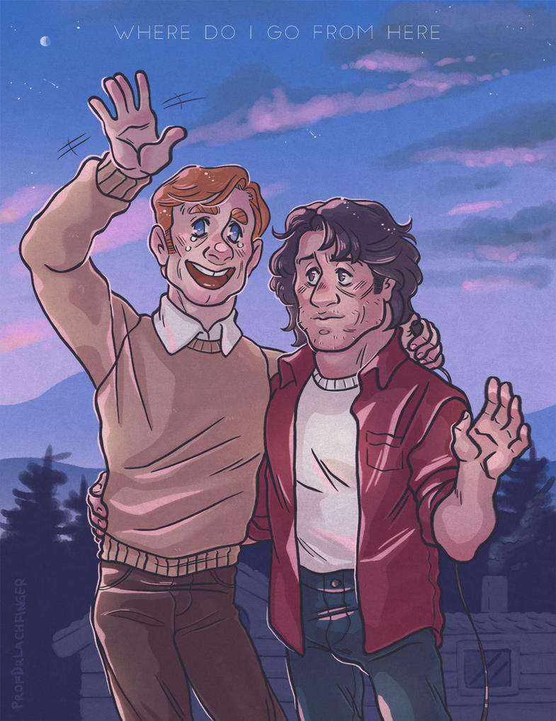 After One Year [John Rambo and Mitch] by ProfDrLachfinger