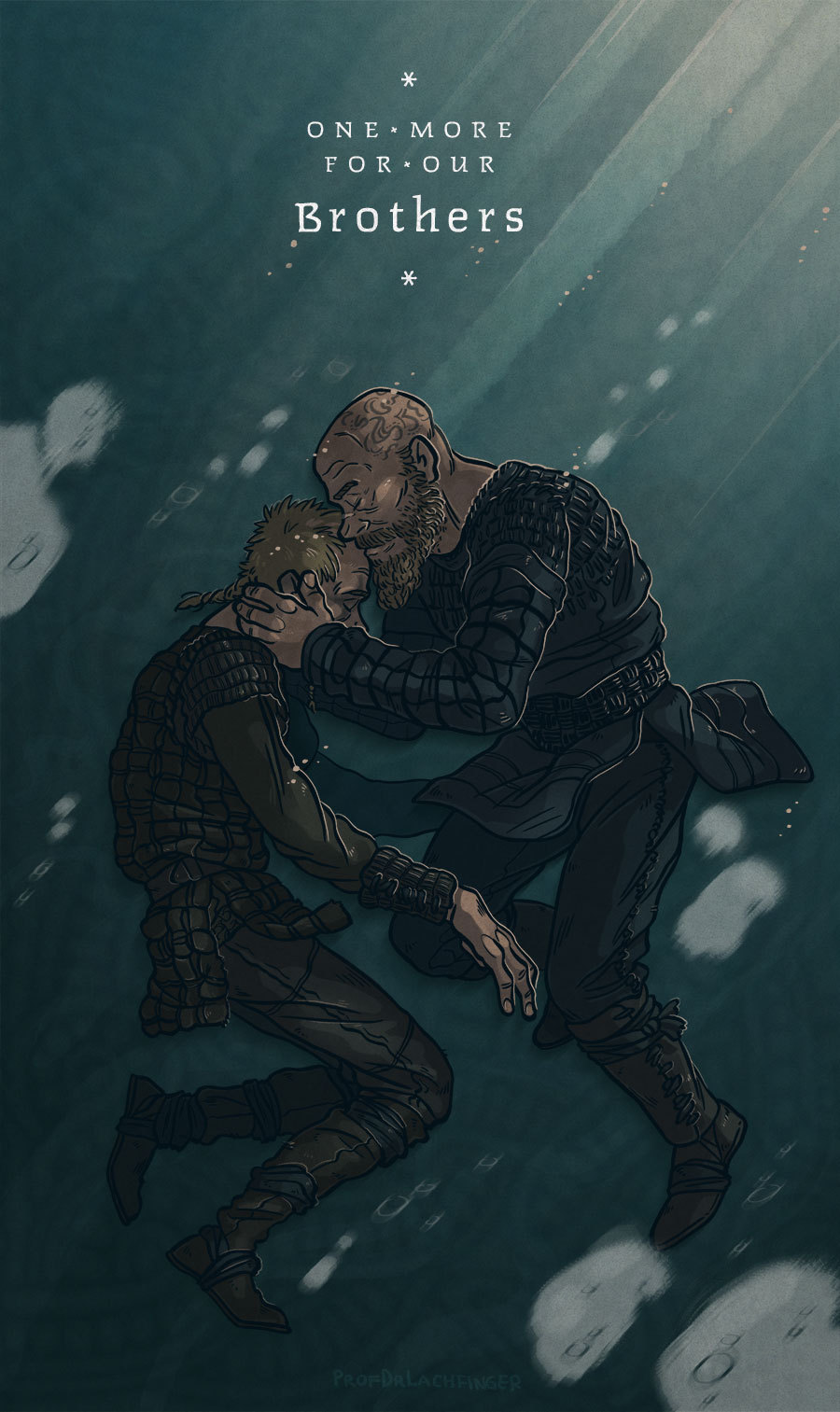 One More For Our Brothers [Ragnar and Floki] by ProfDrLachfinger