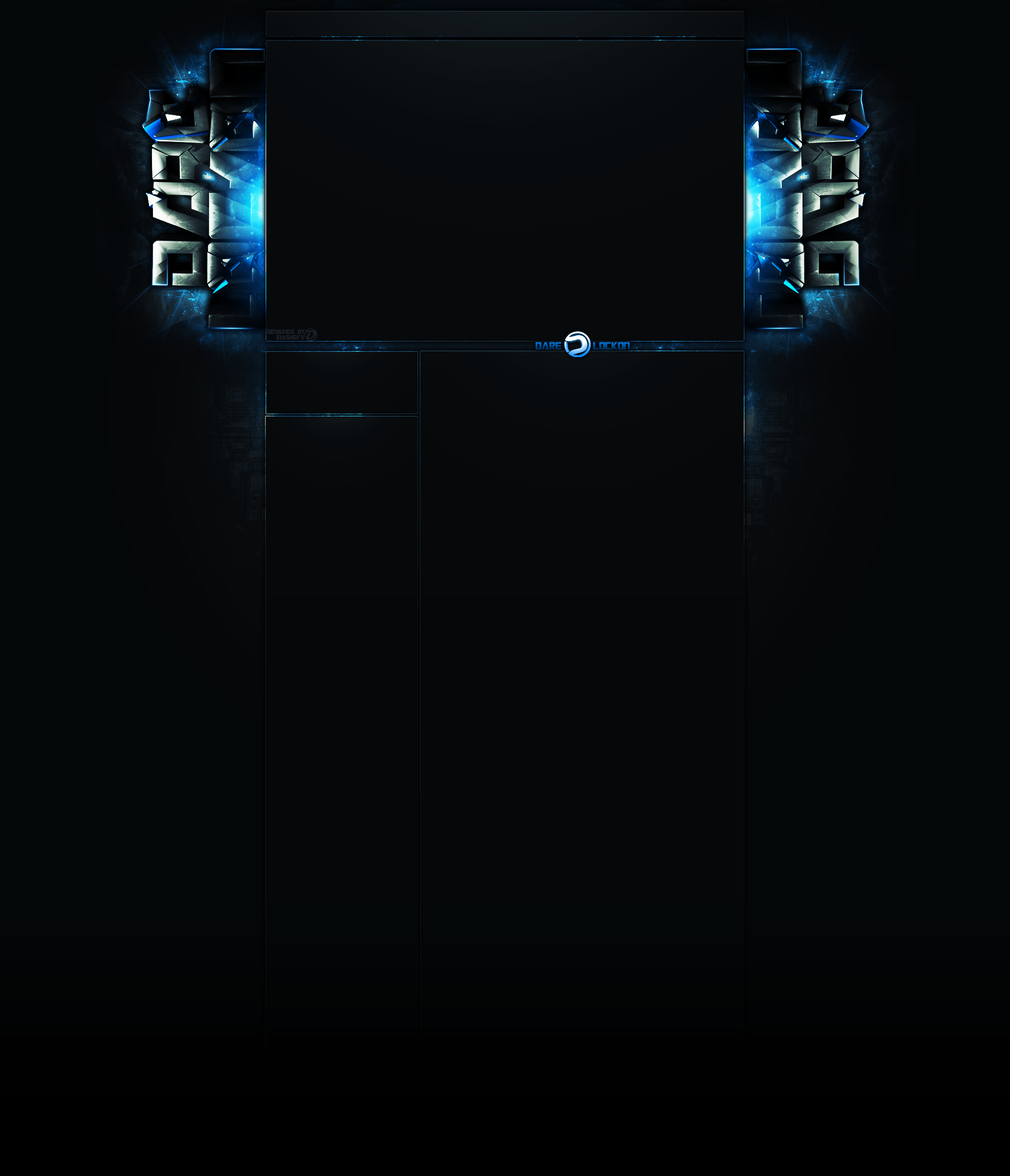Dare Lockon Blue BG by DashGFX