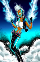 Storm (line art by DAlexis StPierre) by AMProSoft