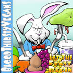 BloodThirsty Vegans CD Cover by AMProSoft