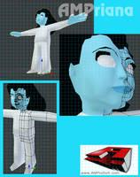 AMPriana 3D model