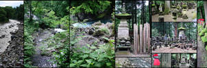 Japan - Nikko graveyards by KupoGames