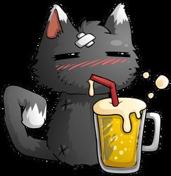 Cat Beer by KupoGames