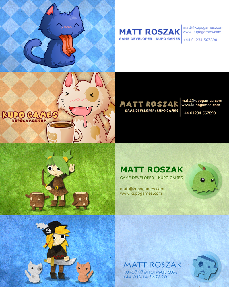 Business Cards by KupoGames