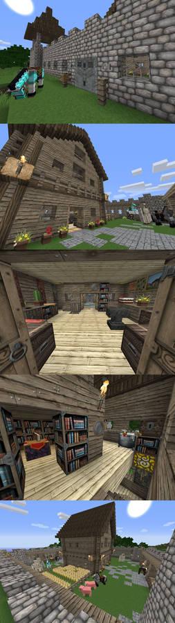 Minecraft Build: Survival House