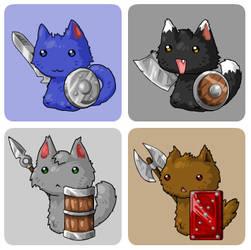 EBF4: Kitten Warriors by KupoGames