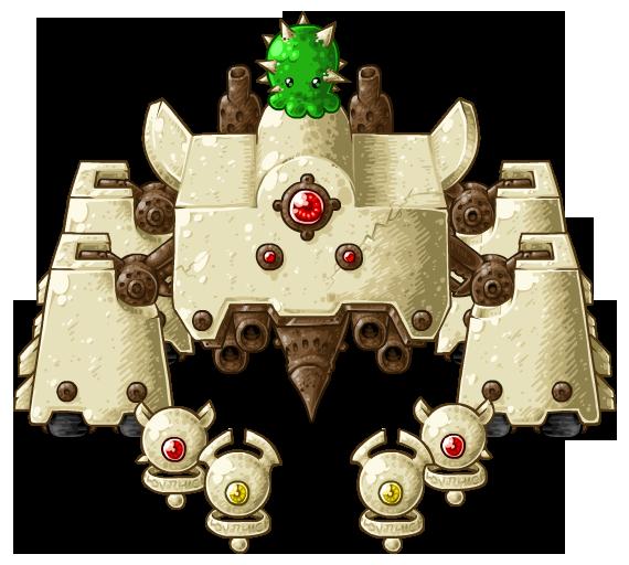 BH2: Cactus Boss by KupoGames