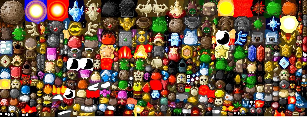 BH2: Foe Spritesheet by KupoGames