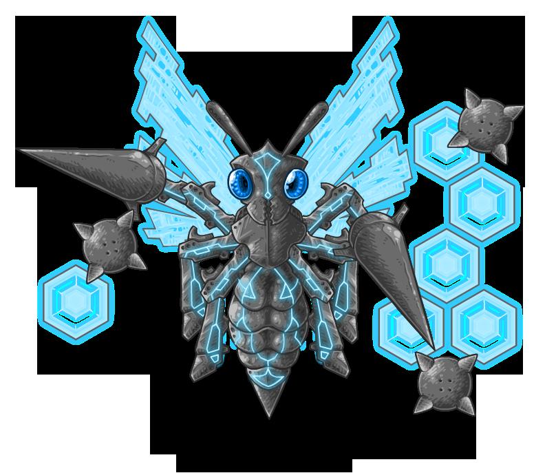 BH2: Mecha Wasp by KupoGames