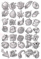 Sketches: Items by KupoGames