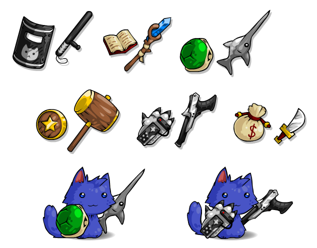 EBF5: Cat Toys 3 by KupoGames